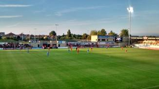 It was a lovely summer's evening at the Globe Arena